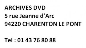 Archives DVD adresse