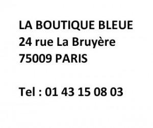 Boutique bleue adresse