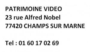 Patrimoine video adresse